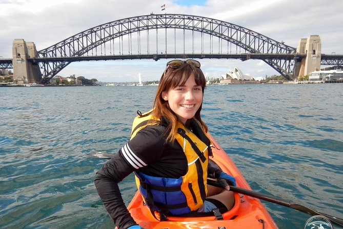 Kayak to Goat Island in Sydney Harbour with Local Sydney