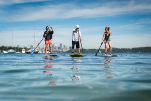 Stand Up Paddle on Sydney Harbour from Watsons Bay Sydney