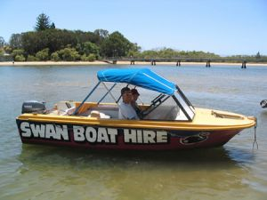 Swan Boat Hire - Attractions Sydney
