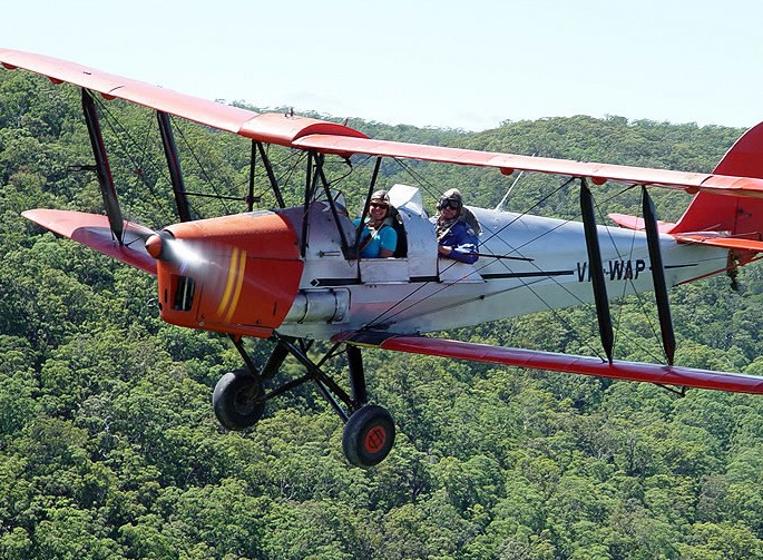 Tigermoth Joy Rides - Attractions Sydney