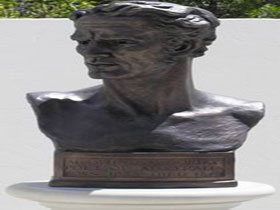Adam Lindsay Gordon Bronze Bust - Attractions Sydney