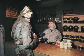Indoor Skirmish - Paintball Sports - Attractions Sydney