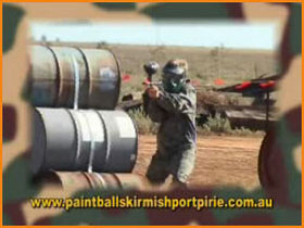 Paint Ball Skirmish Port Pirie - Attractions Sydney