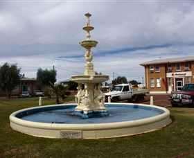 Cunnamulla War Memorial Fountain - Attractions Sydney