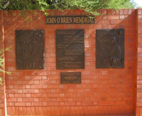John OBrien Commemorative Wall - Attractions Sydney