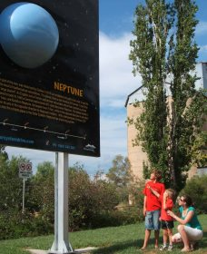 Worlds Largest Virtual Solar System Drive - Attractions Sydney