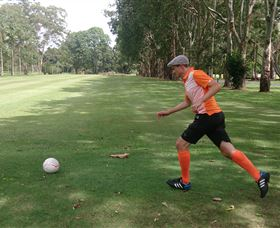 FootGolf at Teven Valley Golf Course - Attractions Sydney