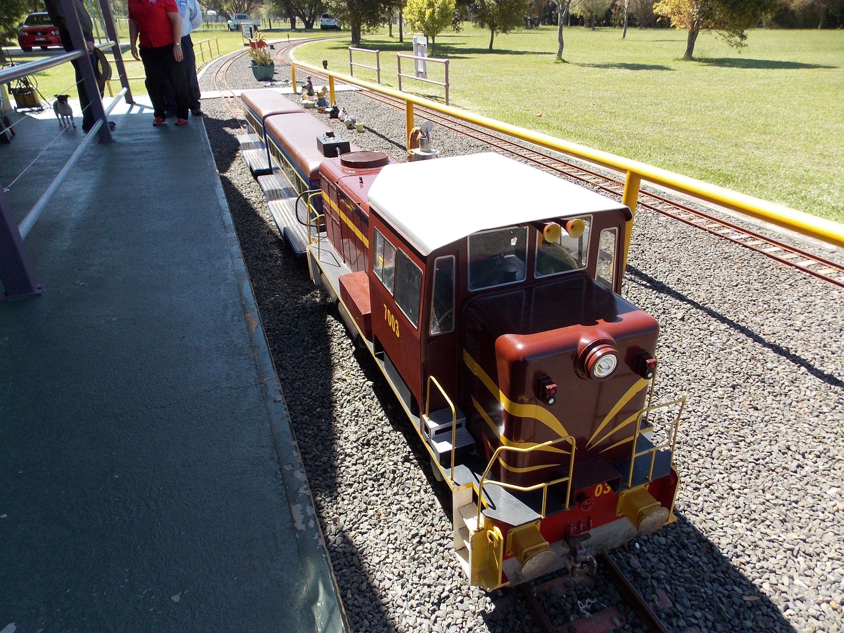 Penwood Miniature Railway - Attractions Sydney