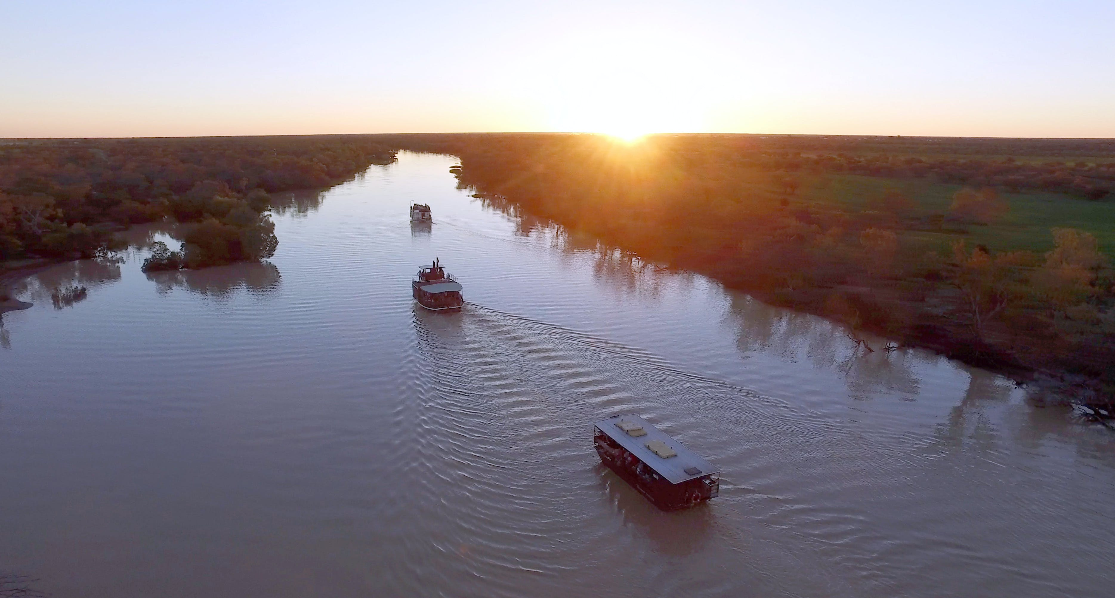 Thomson River Longreach - Attractions Sydney