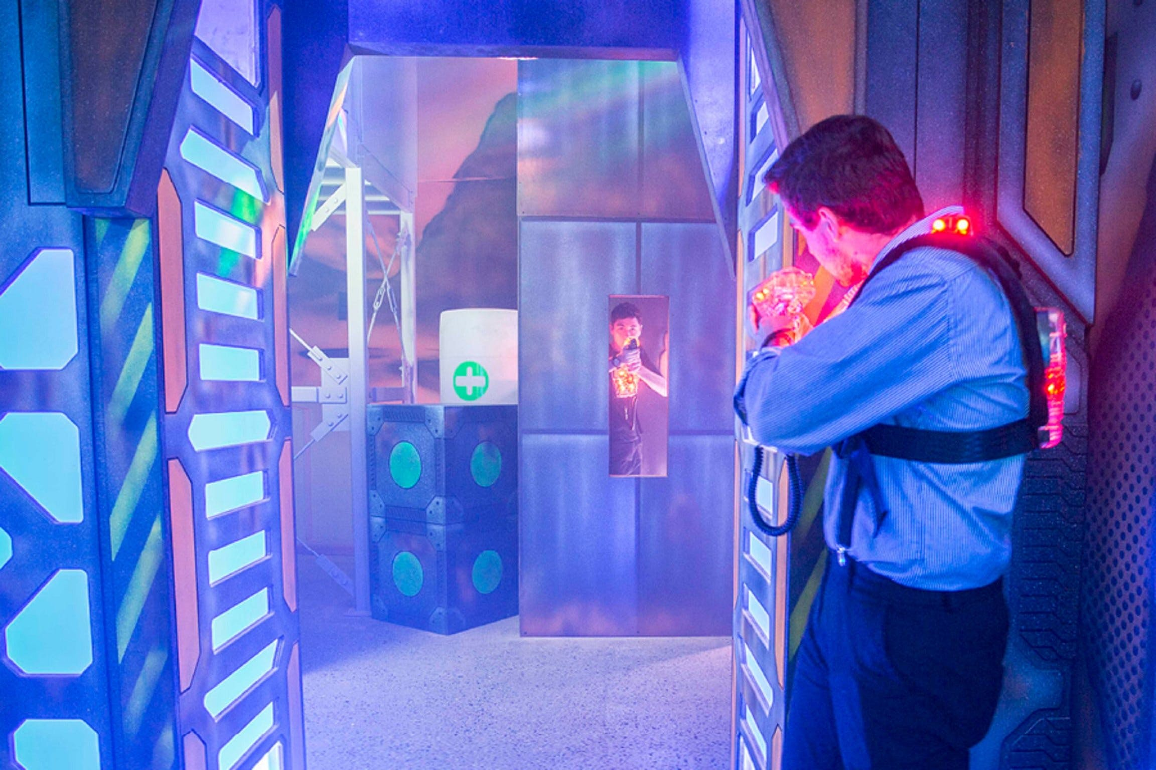 Kingpin Macarthur Square Laser Tag - Attractions Sydney