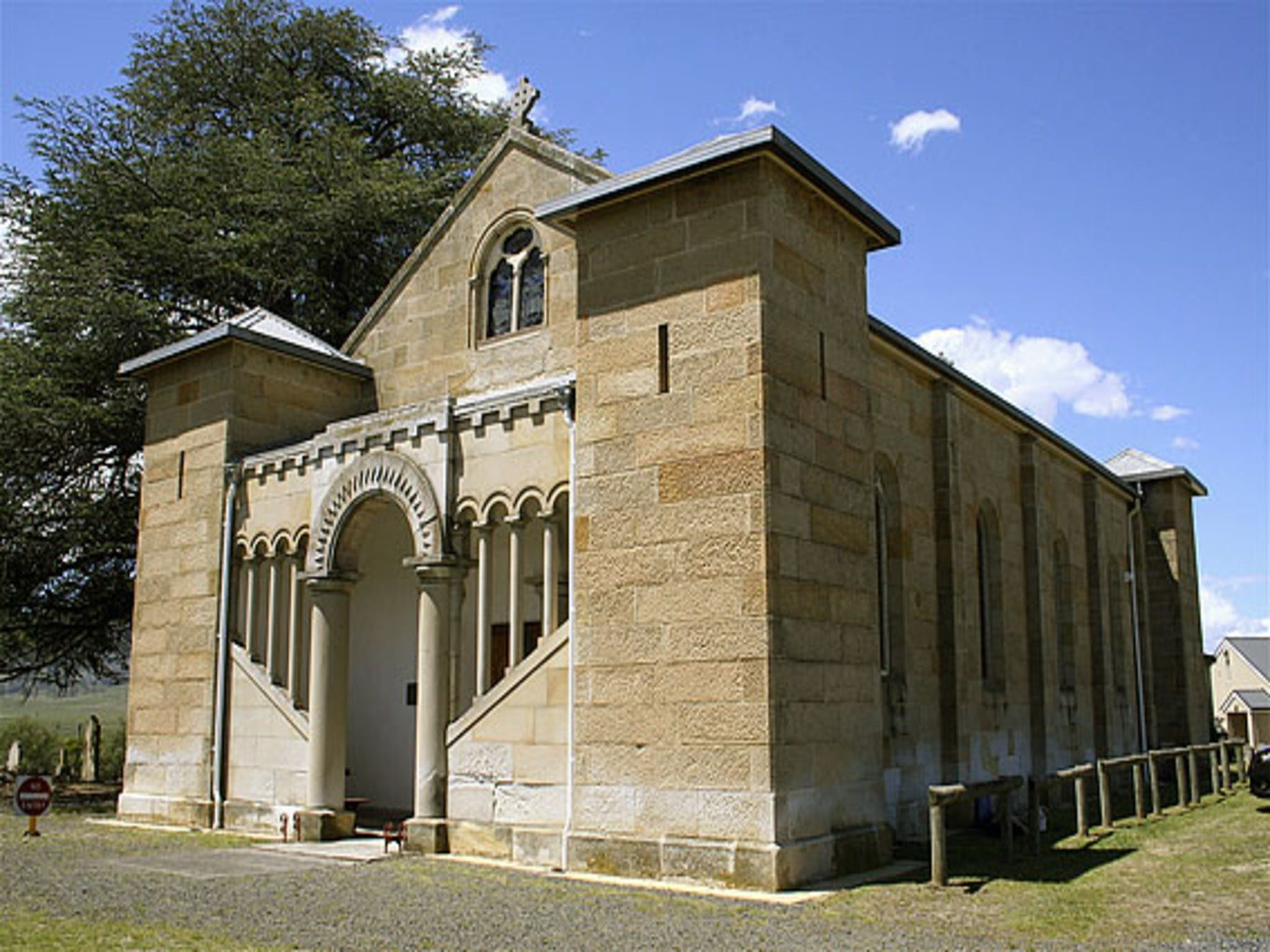St Mark's Church Pontville - Attractions Sydney