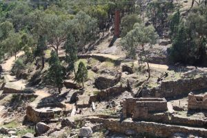 Adelong Falls Gold Mill Ruins - Attractions Sydney