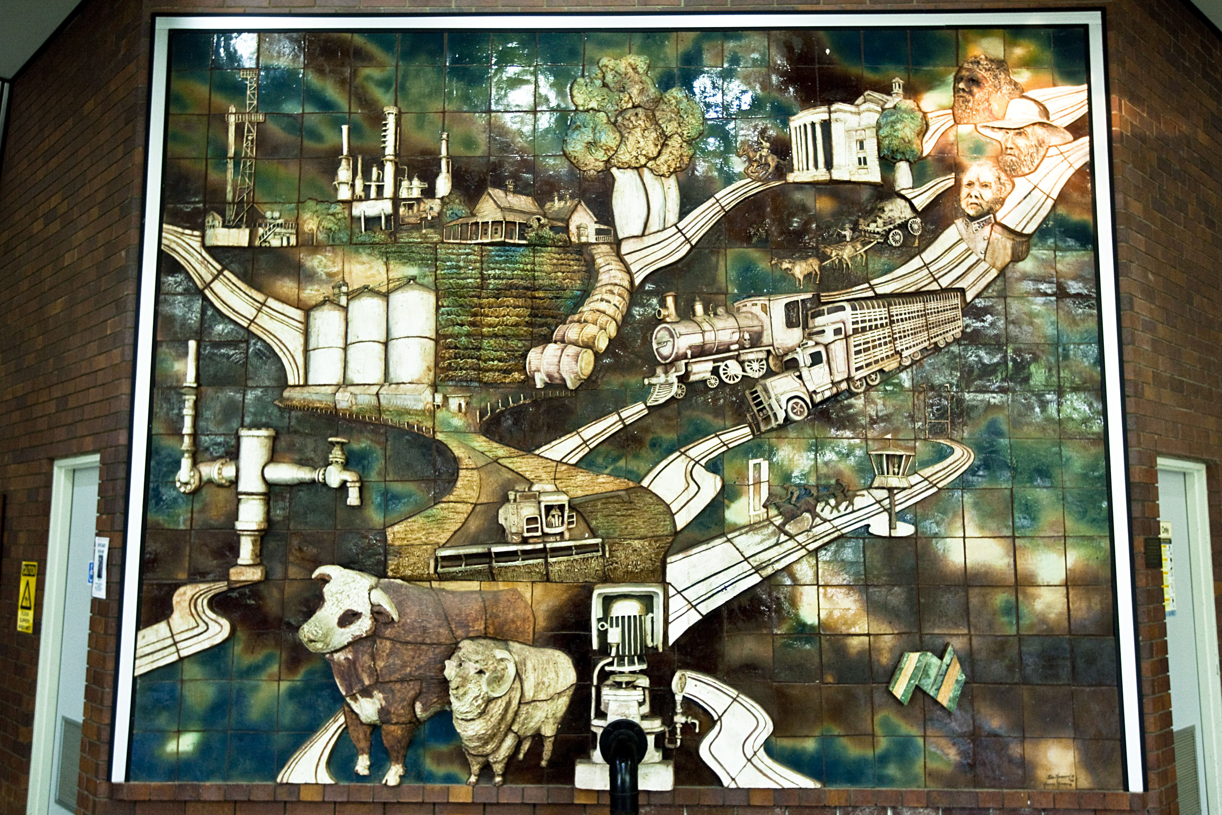 Three Dimensional Mural - Attractions Sydney
